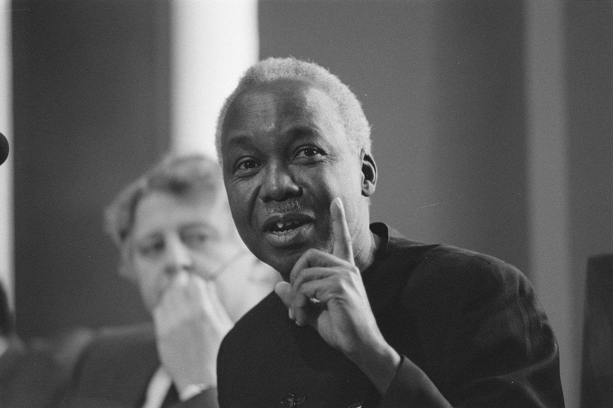 Bezoek president Nyerere van Tanzania president Nyerere spreekt in de Eerste Ka Bestanddeelnr 933 2627
