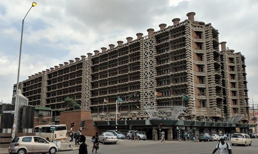Eastgate Center Harare Image source courtesy Pierre Cote Universite Laval