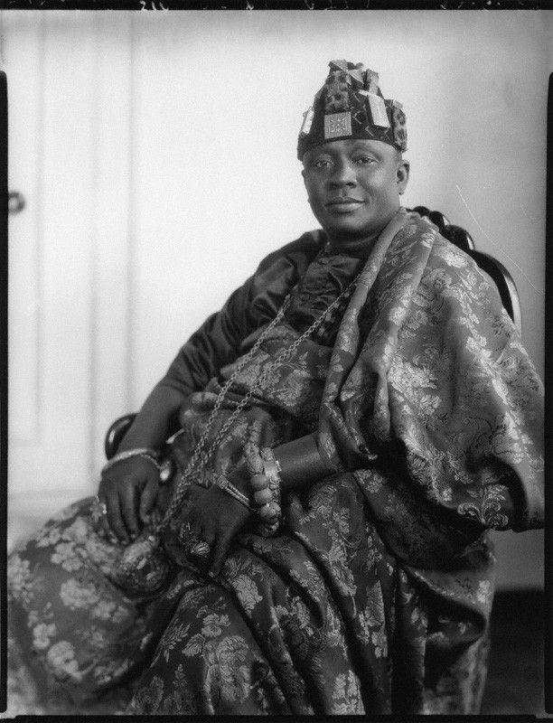 Nana Sir Ofori Atta I Courtesy by the National Portrait Gallery UK