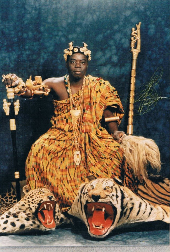 Togbe Ngoryifia Céphas Kosi Bansah Courtesy of Unknown